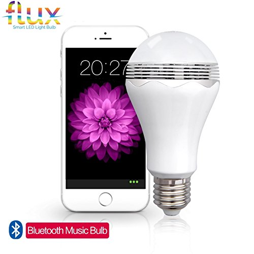 Fluxx 2122 Blast LED Light Bulb with Bluetooth Speaker