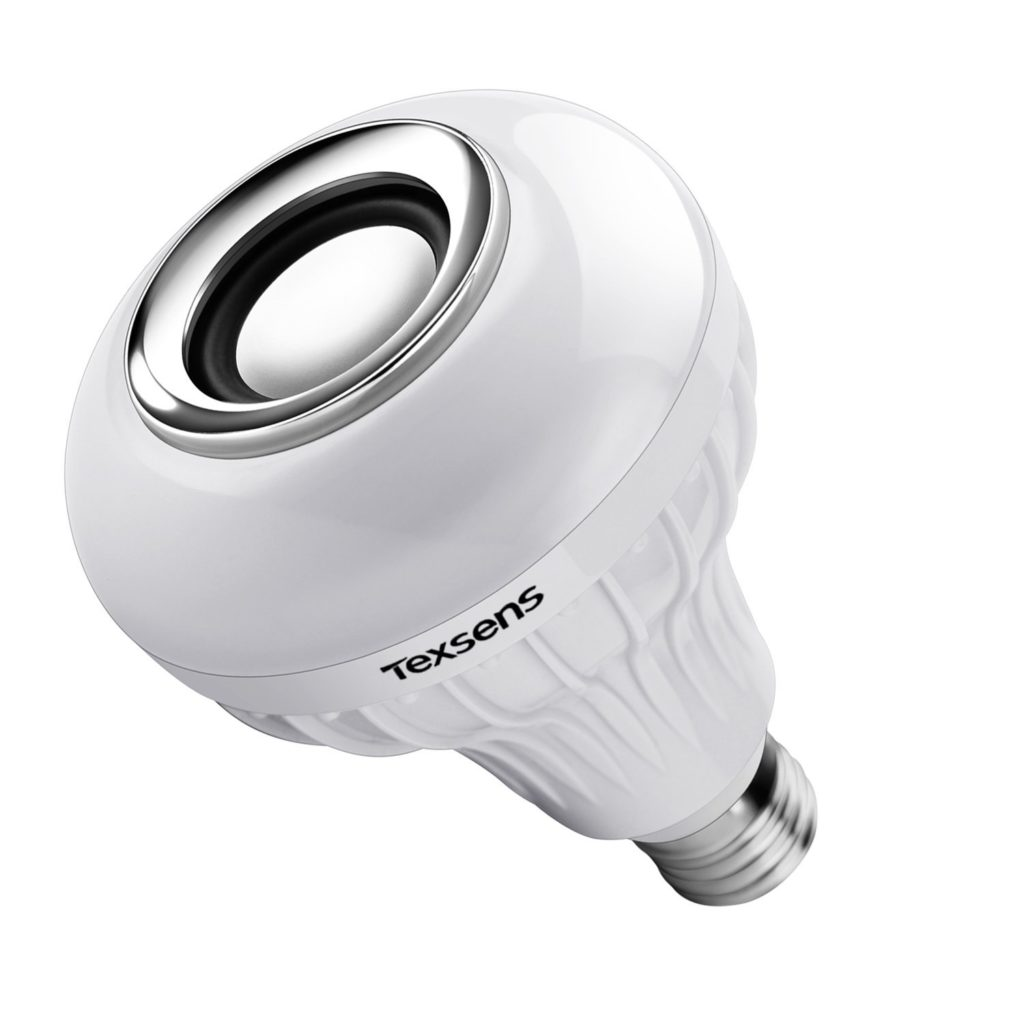 Texsens LED Bluetooth Light Bulb Speaker